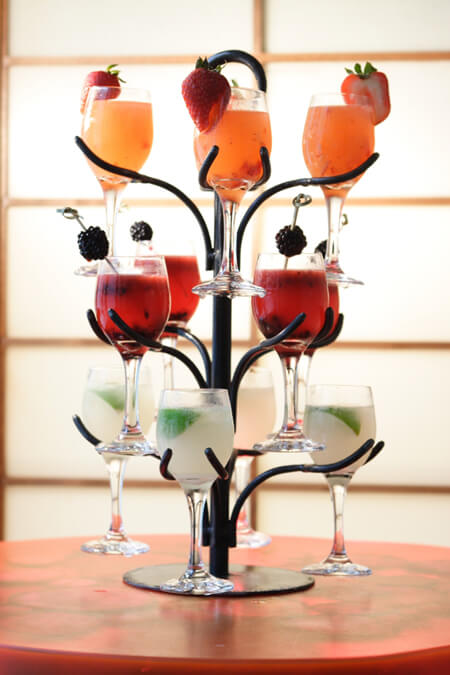 SushiSamba Cocktail Tree