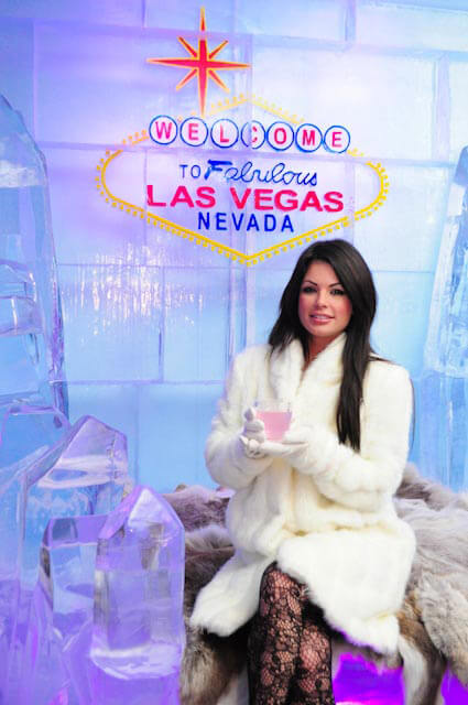 Minus5 Ice Bar Las Vegas Celebrity Cocktail Program
