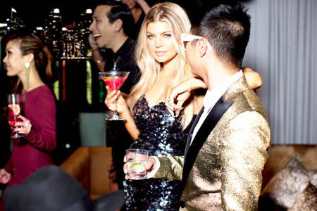 Fergie is the new celebrity partner and owner of Voli Light Vodka