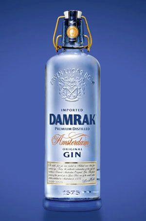 "Damrak Gin wins ""The Fifty Best"" Gold Medal"