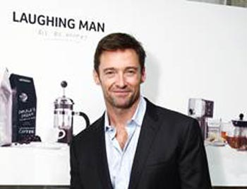 Hugh Jackman and Laughing Man