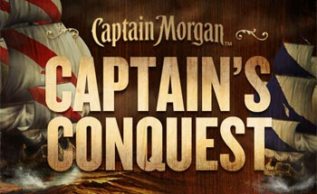 Captain Morgan Sets Sail to Conquer Mobile Social Gaming World with Release of Captain's Conquest for Free Download
