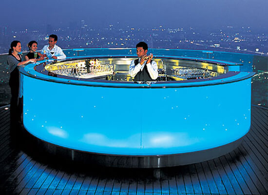 Top Five of The World's Highest Bars