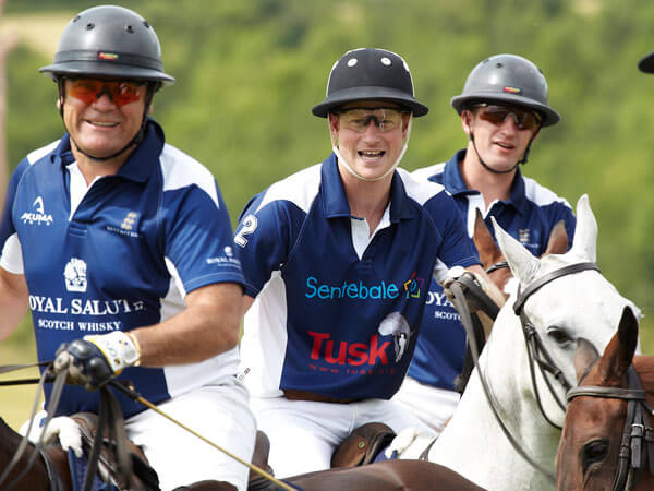 Prince Harry's Royal Salute Team Wins the Kent & Curwen Cup