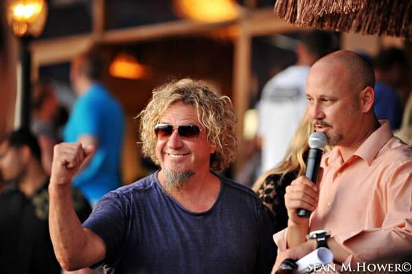 Pre Mix-Off Mai Tai Winners Announced with help from judge Sammy Hagar