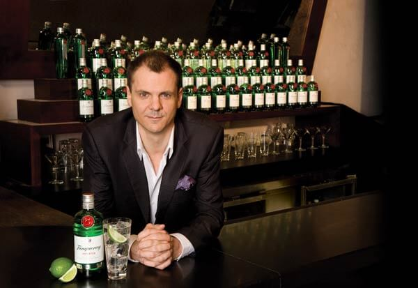 Angus Winchester Named 2012 Best International Brand Ambassador for His Work with Tanqueray