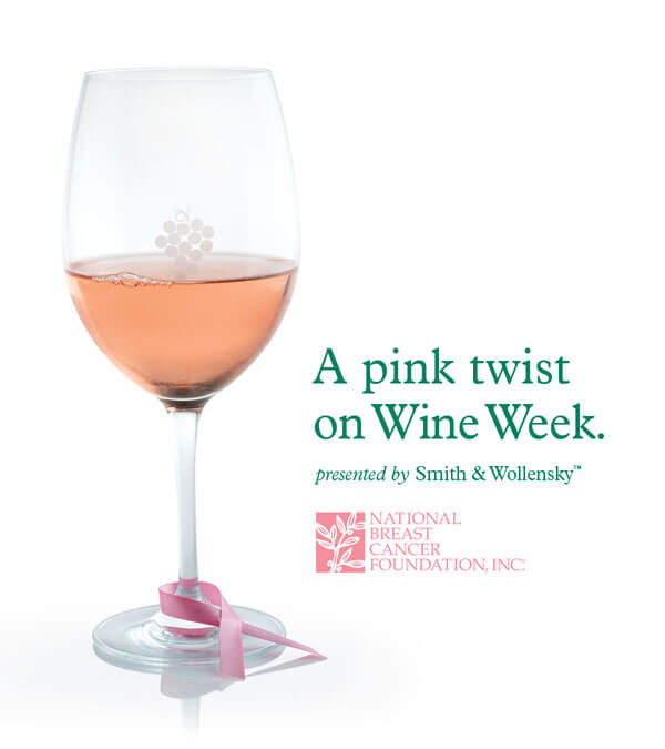 The Smith & Wollensky Restaurant Group Puts a Pink Twist on National Wine Week