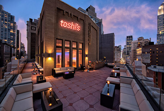 toshi s penthouse bar at the flatiron hotel to open in spring 2013