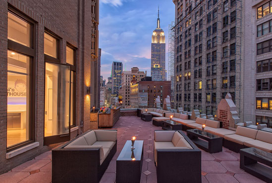 Toshi S Penthouse Bar At The Flatiron Hotel To Open In