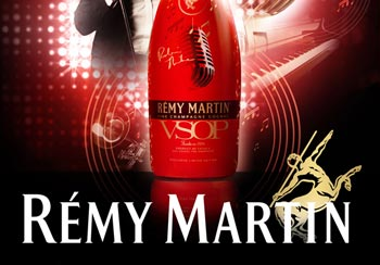 RÉMY MARTIN® V.S.O.P and ROBIN THICKE Design Signature Limited Edition Bottle