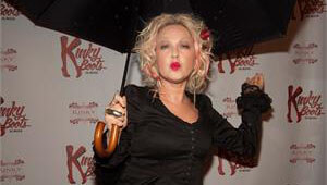 Cyndi Lauper and Renowned Cast of Kinky Boots the Musical Toast the Premiere with KINKY® Liqueur