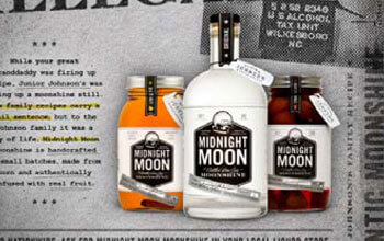 Midnight Moon Launches Their First Ever National Advertising Campaign Featuring an Authentic Prison Mug Shot of Creator Junior Johnson