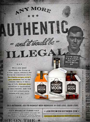 Midnight Moon Launches Their First Ever National Advertising Campaign Featuring An Authentic