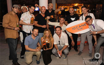 Winners of the 10 Cane Rum Surf's Up Mixology Contest Announced