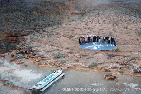 Glenfiddich Pioneers First-Ever Tasting Adventure Inside Grand Canyon