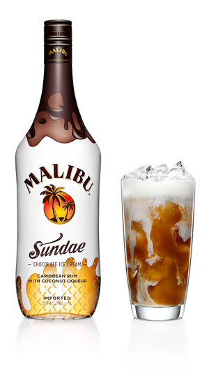 malibu sundae float