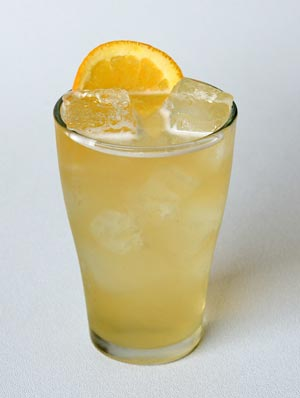 white plume beer cocktail