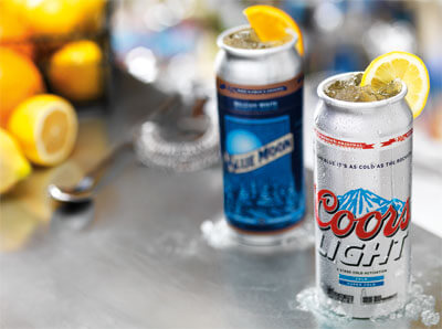 coors light and blue moon cocktails