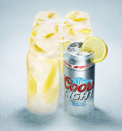 coors light and lemonade cocktail