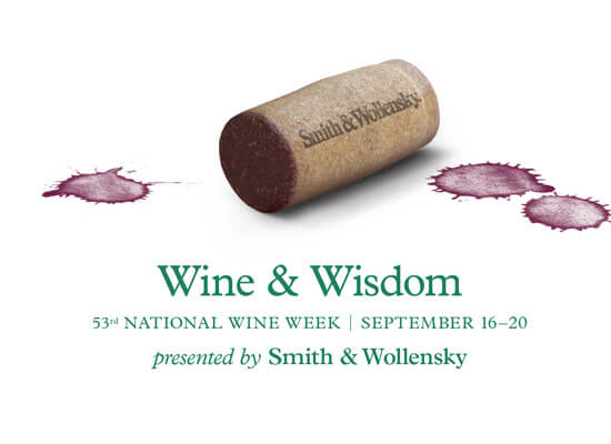 smith & wollensky wine & wisdom 53rd national wine week featured image