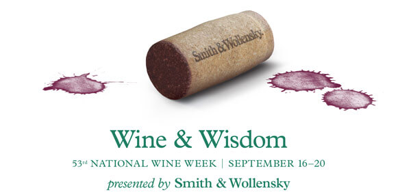 smith & wollensky wine & wisdom