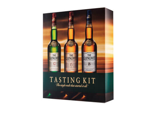 The Glenlivet® Introduces 200ml Tri-Pack