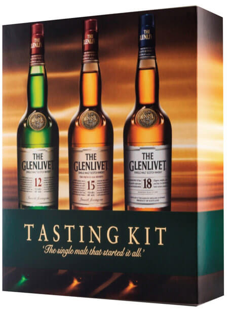 glenlivet tri-pack product package