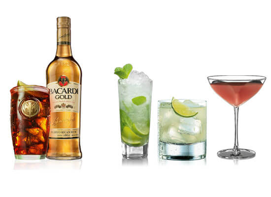 Bacardi Cocktails for National Rum Day
