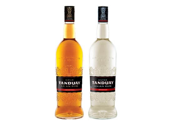 tanduay rum bottles featured image