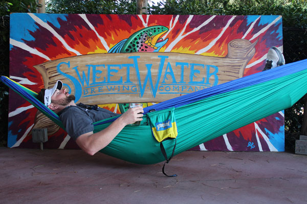 Eagle Nest Outfitters and SweetWater Brewing Company Hammock