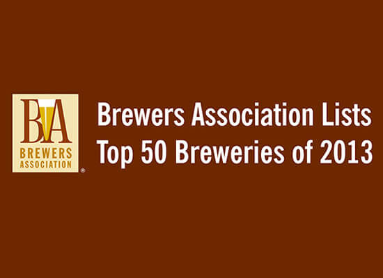 Brewers Association Lists Top 50 Breweries of 2013