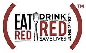 eat red drink red thumb