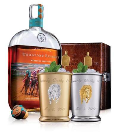 Woodford Reserve Celebrates the Run for the Roses with Exclusive $1,000 Mint Julep Cup for Charity
