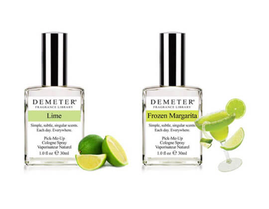 Demeter's Lime, Frozen Margarita and Gin and Tonic Spray