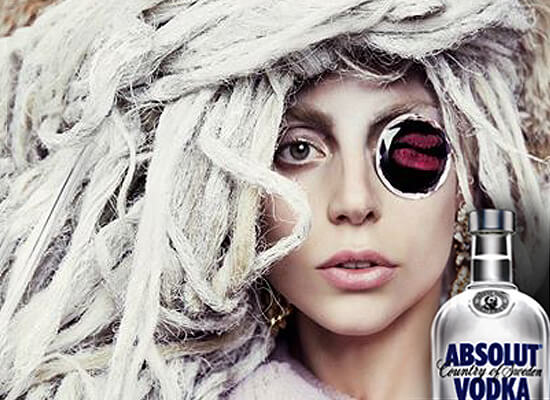Absolut Goes Gaga