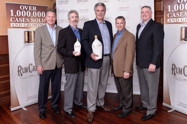 rumchata sales executives 1,000,000 cases sold