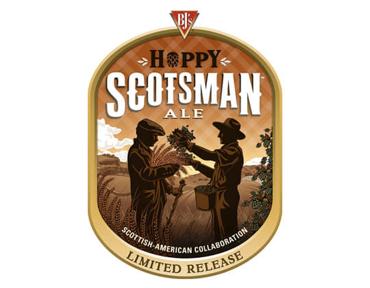 BJ's Restaurant & Brewhouse and Caledonian Brewery Create BJ's Hoppy Scotsman Ale