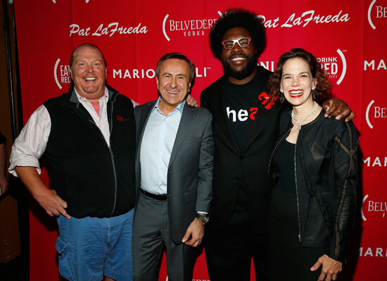 (BELVEDERE) RED Joins Chefs and Celebs to #86AIDS