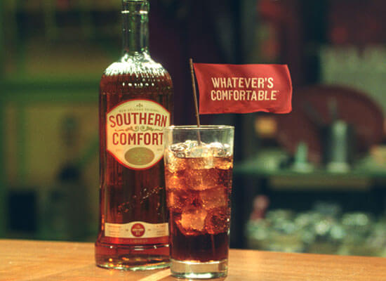 """Southern Comfort's Latest """"Whatever's Comfortable"""" Commercial"""