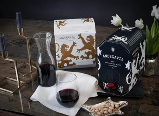 Andegavia Pairs Luxury Wine with Sustainability & Convenience
