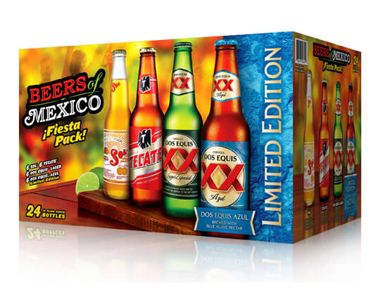"Heineken USA ""Beers of Mexico"" Variety Pack Now Available"