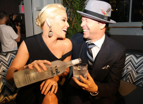 Jenny McCarthy and Donnie Wahlberg Enjoy Voli Vodka Signature Cocktails