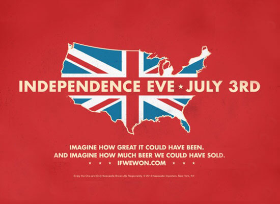 """Newcastle Brown Ale Celebrates """"Independence Eve"""""""