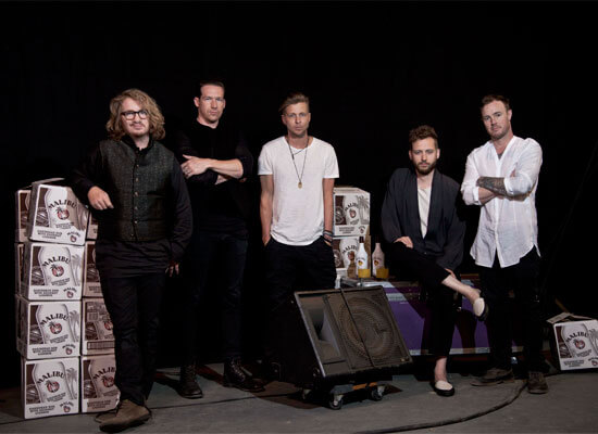 Malibu® Partners with OneRepublic for Their Summer Concert Tour