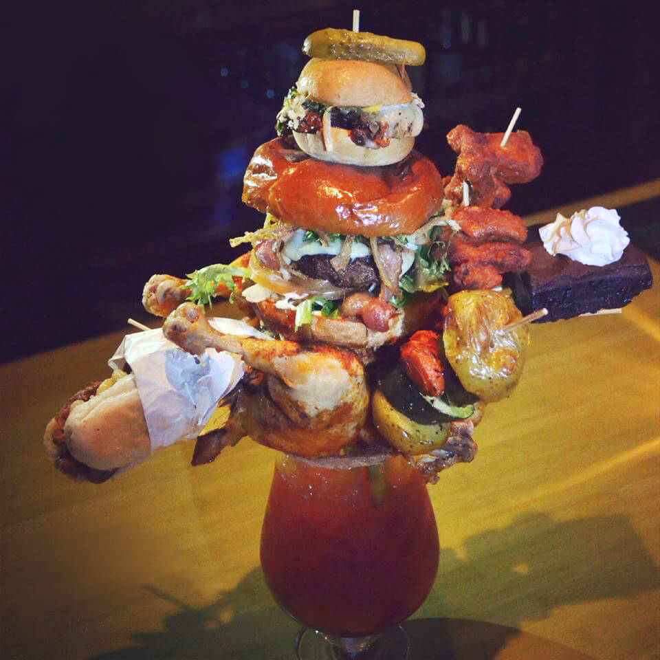 Five Over-The-Top Bloody Marys |