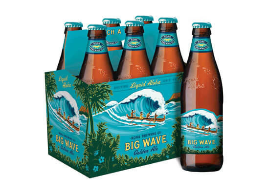 Kona Brewing Company's Big Wave Medals Again at U.S. Open Beer Championship