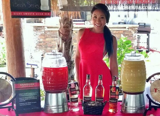 Tanduay Asian Rum Participates in Bartenders Bash 2014