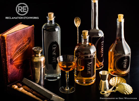Spirit Decanters With a Modern Twist