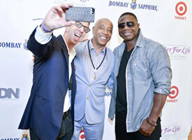 ART FOR LIFE Gala hosted by Russell Simmons and BOMBAY SAPPHIRE
