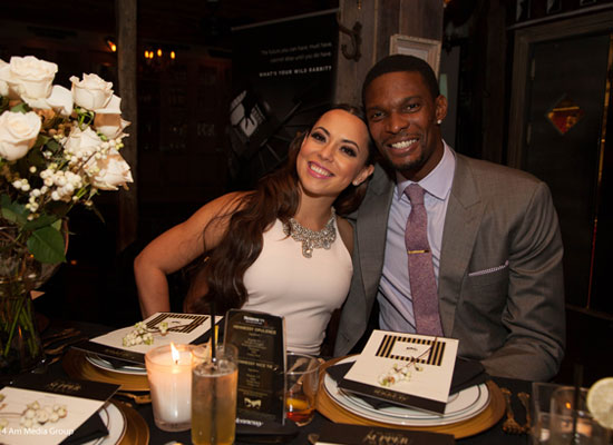 "Hennessy & NBA's Chris Bosh Celebrate the Launch of Neckwear Line ""Mr. Nice Tie"""
